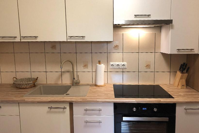 Küche - Zimmervermietung für Pendler und Monteure
